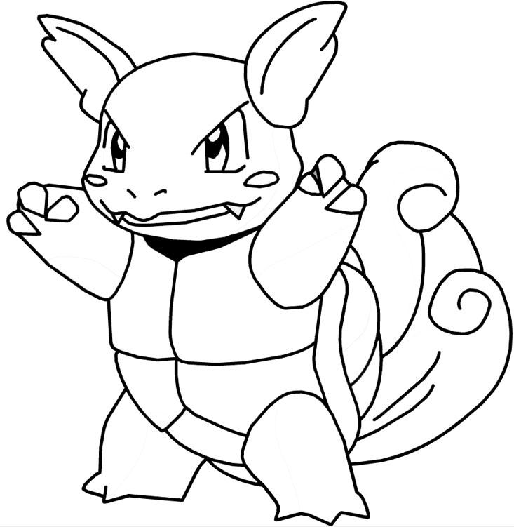 Coloriage pokemon page 5 - Pokemon en dessin ...